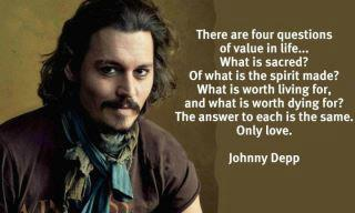 The Softer Side of Hot  –  Johnny Depp