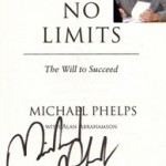 Michael Phelps Writing on the Wall
