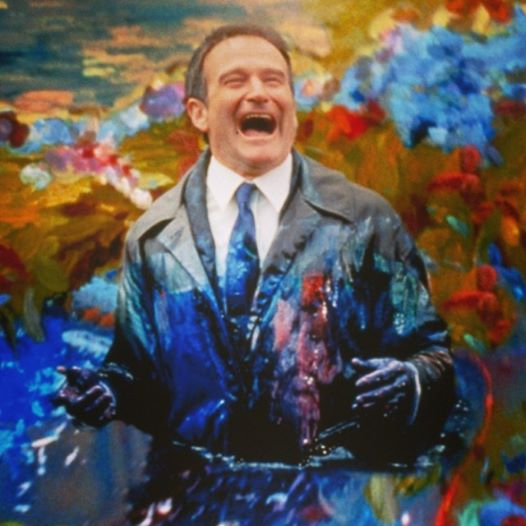 Robin Williams Handwriting- Nanu Nanu
