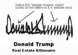 TrumpsFormerSignature