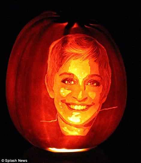 Ellen Degeneres- Happy Halloween!