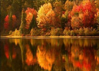 autumnlakereflections